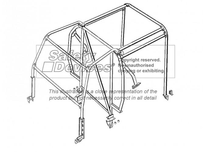 Safety Devices Überrollkäfig Front External/Rear Internal