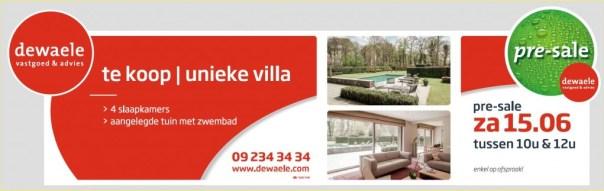 verkoop huis dewaele