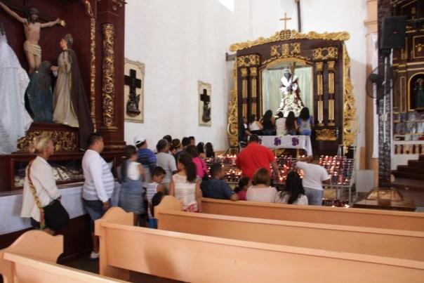 Iglesia de San Felipe met de zwarte Christus