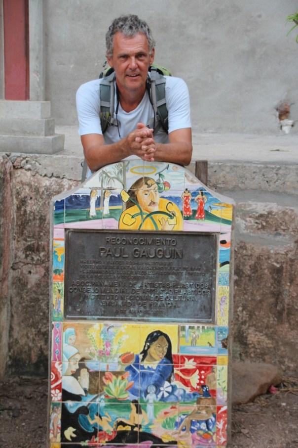 Gauguin is ons voor geweest op het eiland