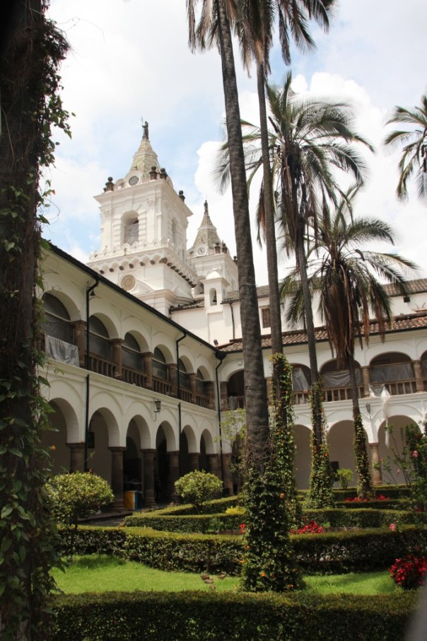San Francisco klooster binnentuin