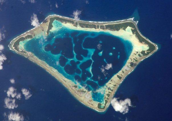 Voorbeeld van een atol