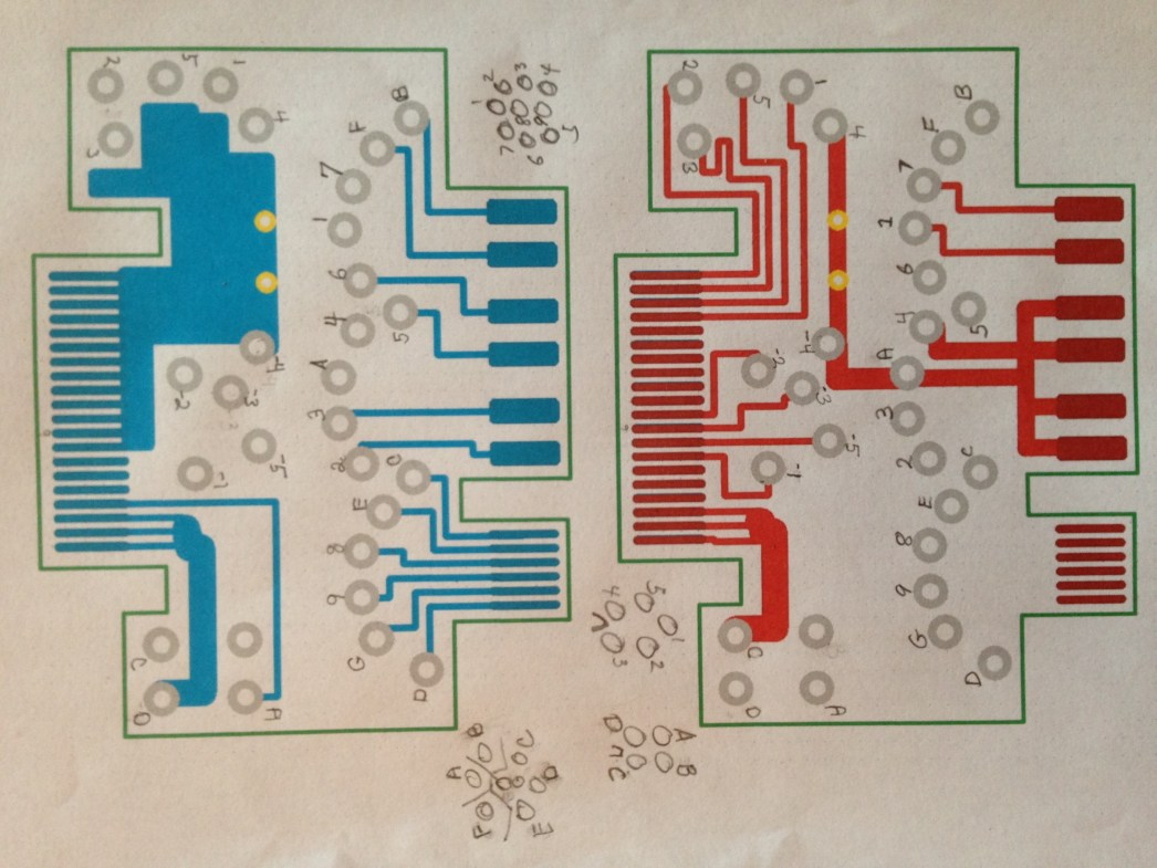 Sonar Sv Seeker Wiring Diagrams Drew Morgan Used Pcb Artist Available From 4pcbcom To Generate A Two Sided Board That When Cut In Half Will Replace The Cable Plug Port Cards