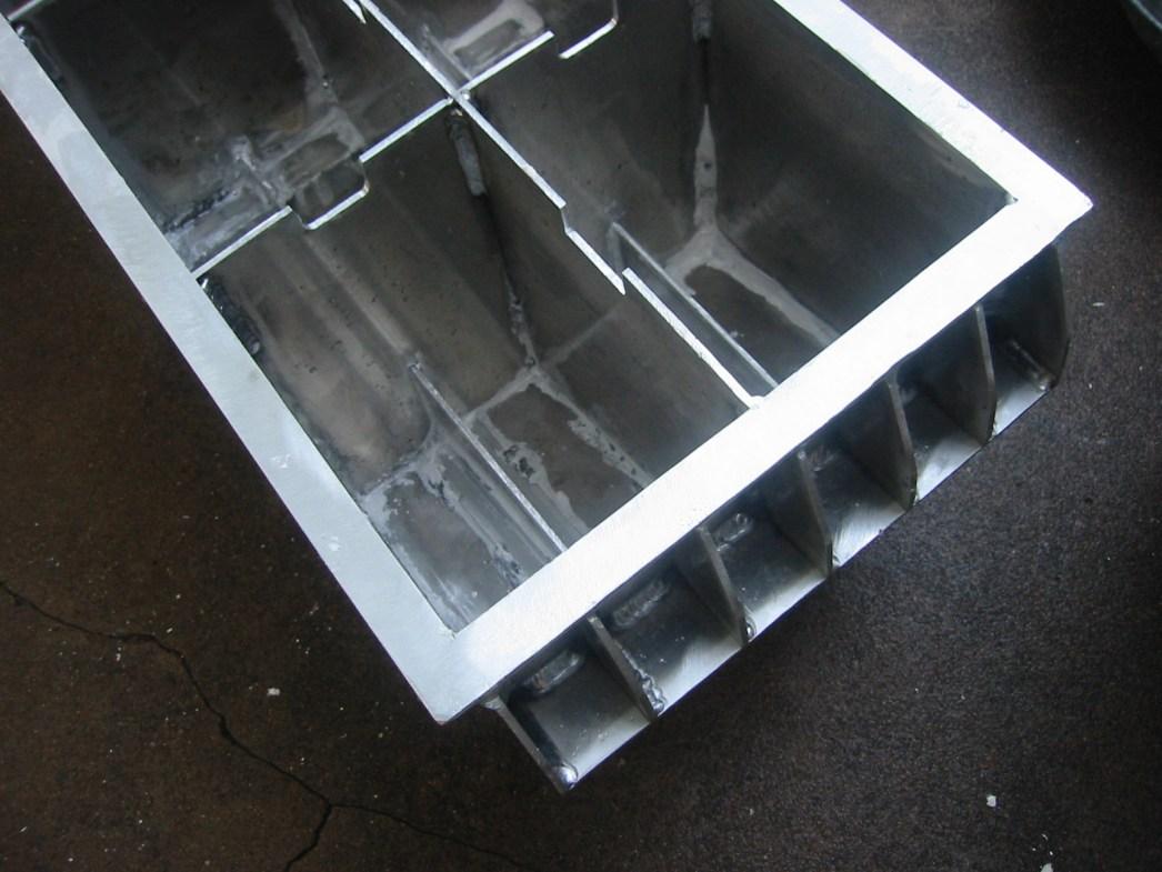 (2) Plaster fillets added.