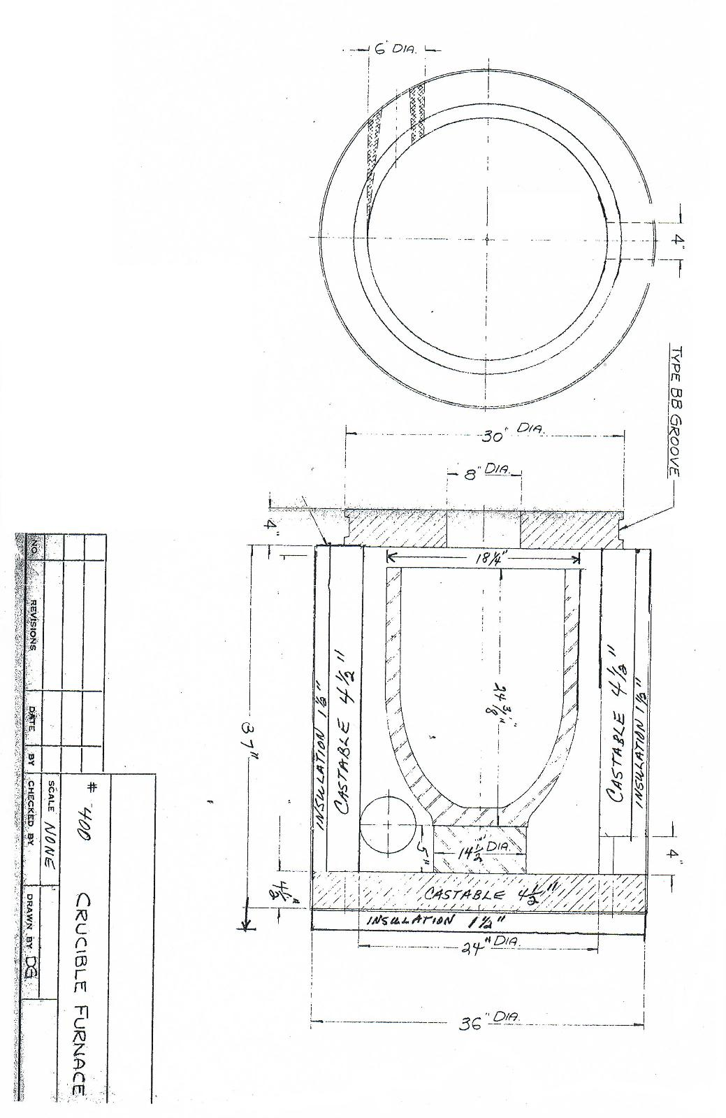 Graphite Furnace Schematic