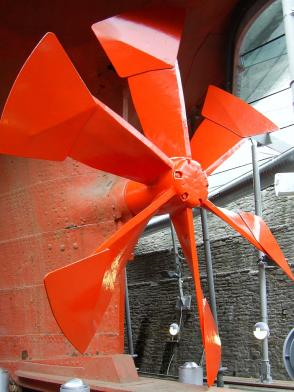 Propeller of the SS Great Britton