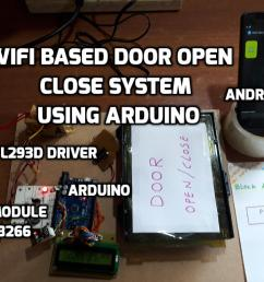 wifi based door open  [ 1024 x 768 Pixel ]