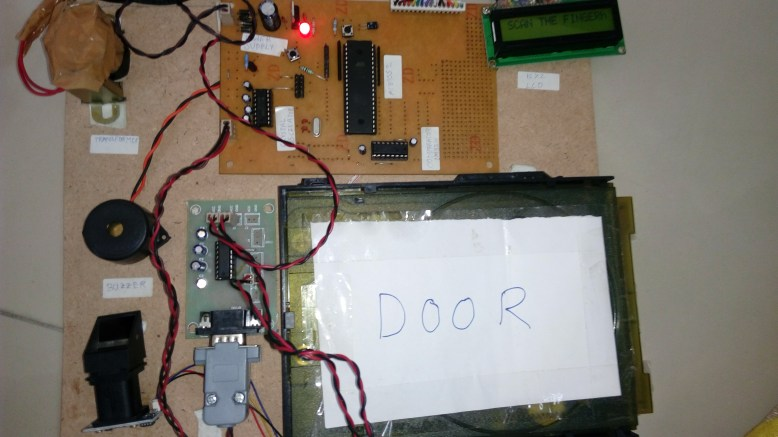 Rfid Based Door Access Control Final Year Projects