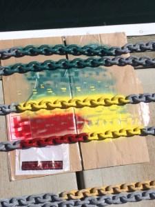 Anchor Chain Rasta style
