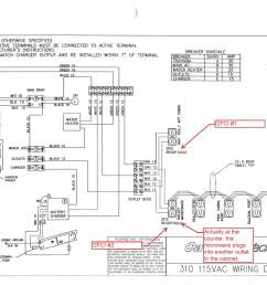 c310 115vac wiring diagram with markup  [ 1650 x 1275 Pixel ]
