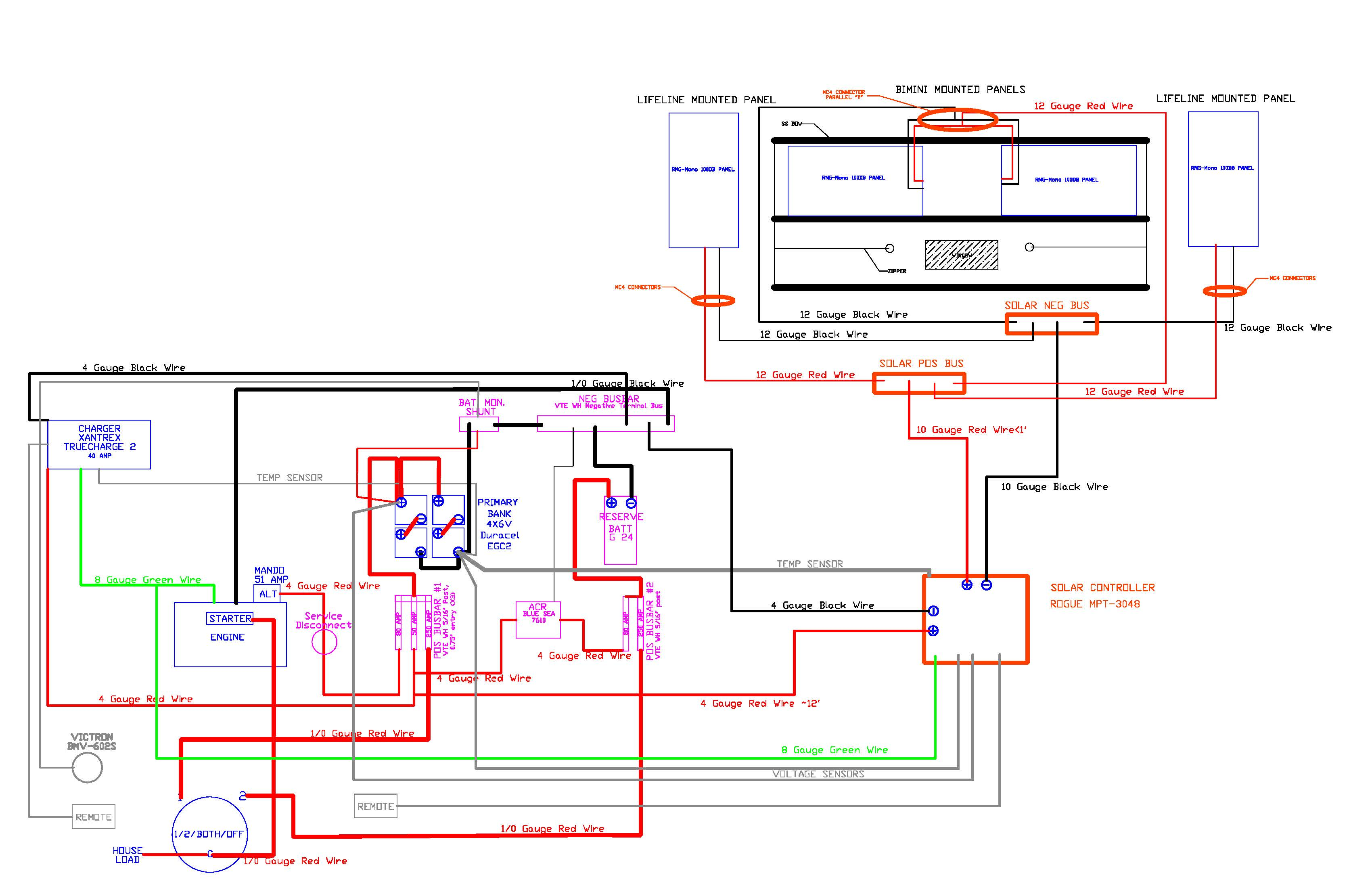 Solar Tracking System Circuit Diagram