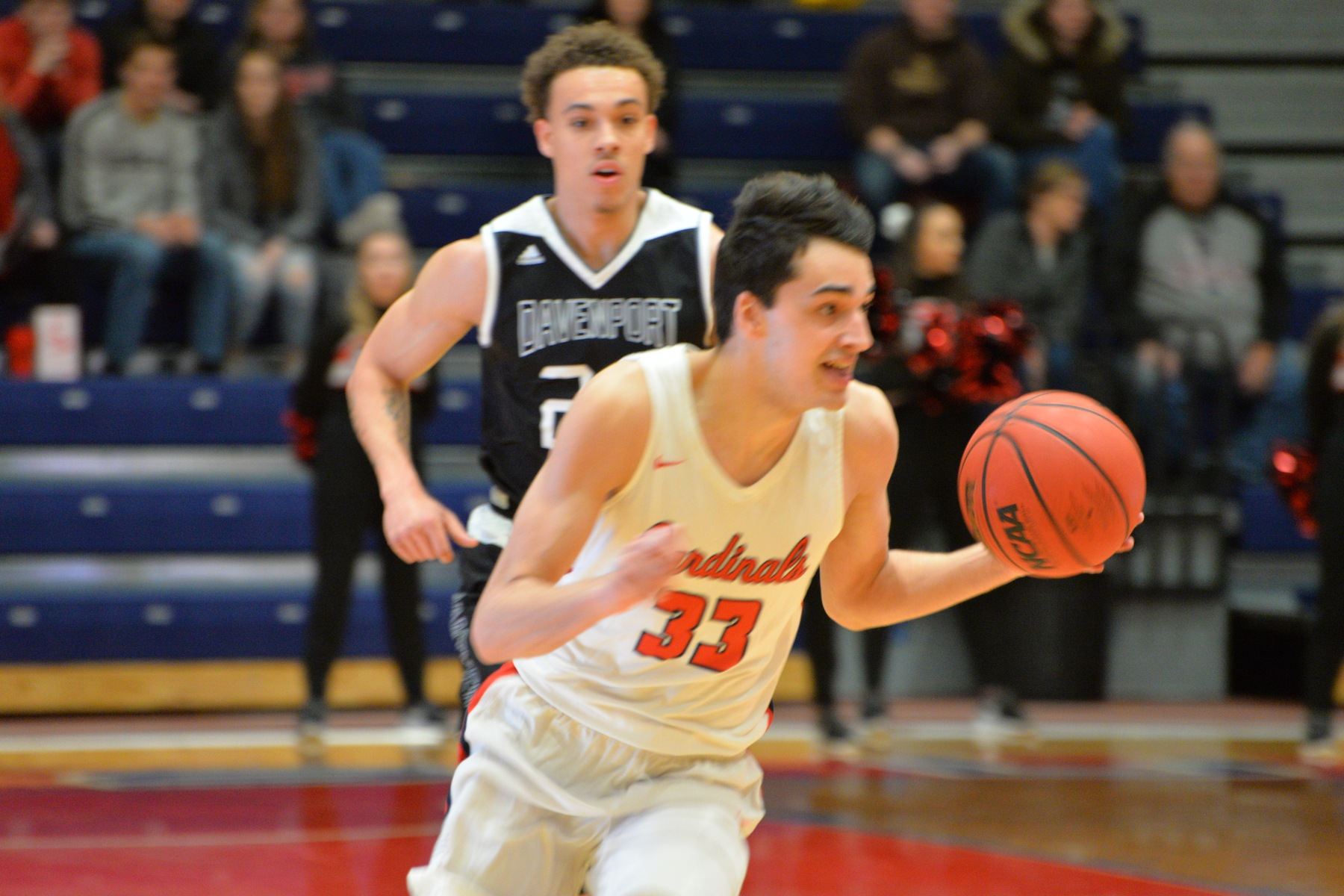 Men's Basketball vs Davenport - Feb. 15. 2020 - Saginaw Valley State