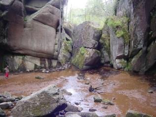 érosion en boules dans un granite en Ecosse