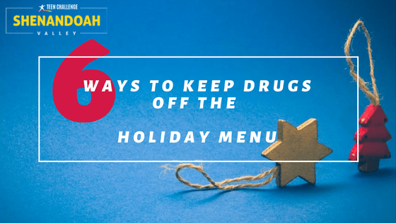 Keep Drugs off the Holiday Menu