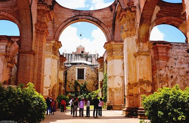 #Antigua_Cathedral ruins3