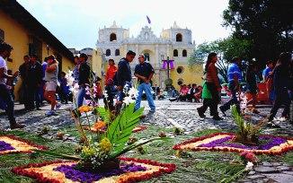 #Antigua_Semana Santa_Alfombra at La Merced