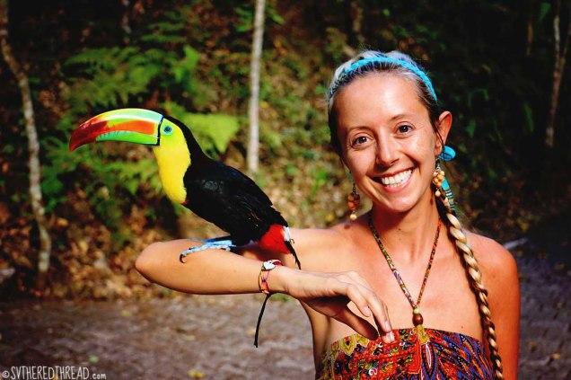 #Macaw Mountain_Toucan + Jessie1