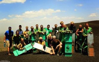 #Cerro Negro_Volcano boarders