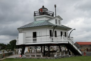 Hooper Straight Lighthouse at the maritime museum