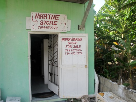 The local chandlery, anyone want to buy a business in Bequia?