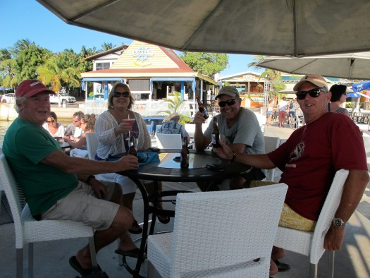 Graduation party for our newest open water diver, Rob