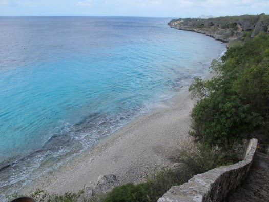 Thousand steps dive site (there's only 76 thankfully!)