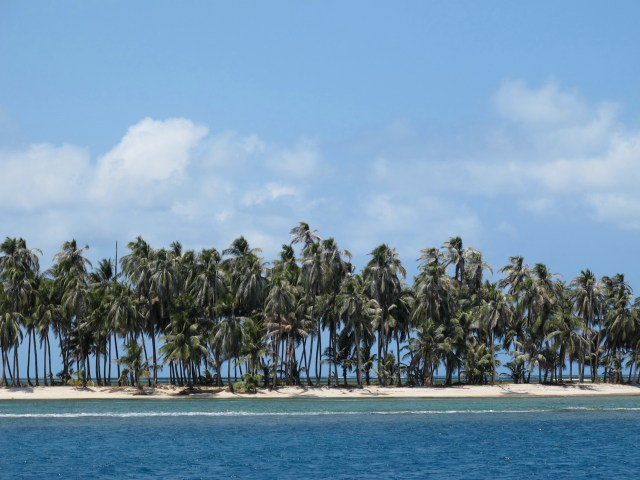 Just one of 360 palm-fringed islands of the San Blas