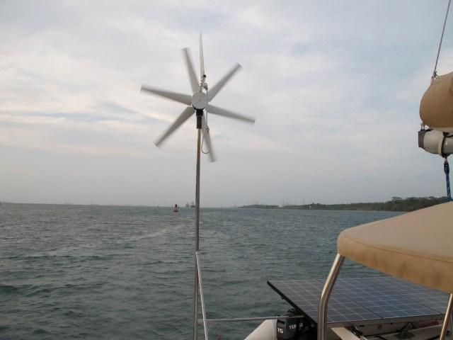 The non-generating wind generator