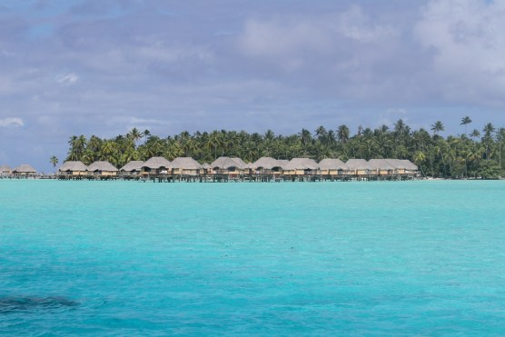 The private island and hotel complex, Taha'a