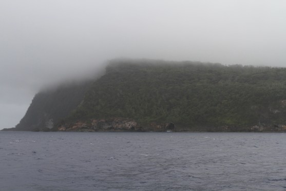 The cliffs of Tonga - play misty for me.