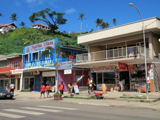 Savusavu main street