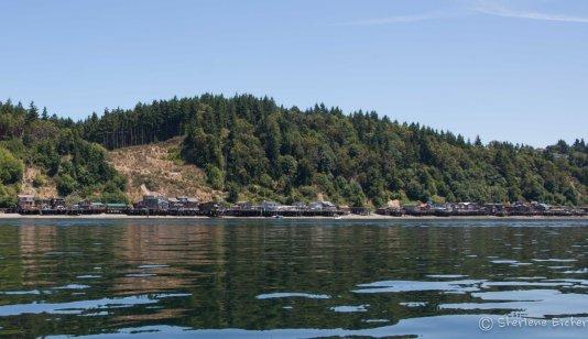 Expensive houses on stix ~ Tacoma Narrows