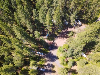 Group Camp 2 - Credits to Justin Norcross (Drone)