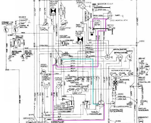 small resolution of volvo 122 wiring diagram