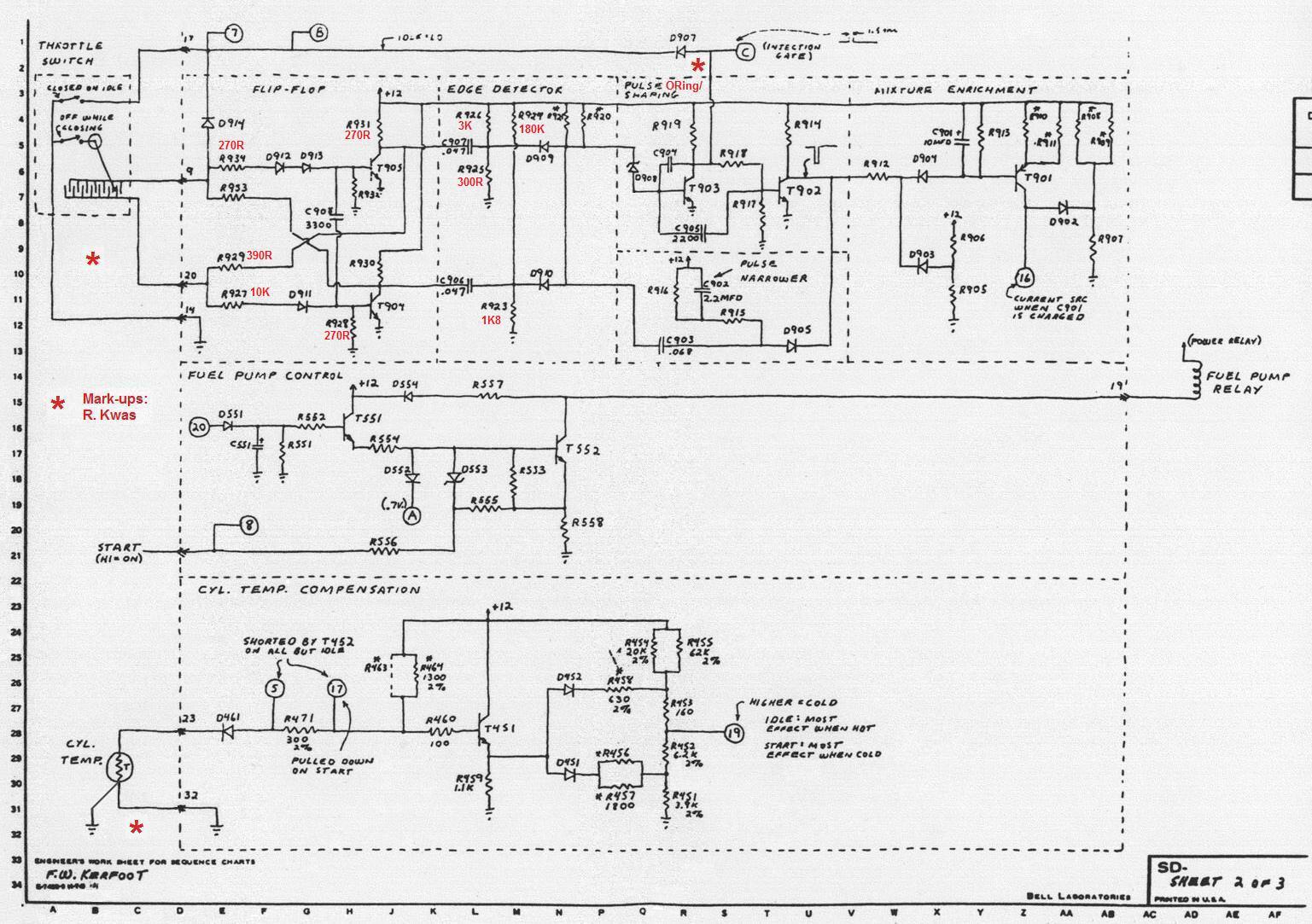 1975 porsche 914 wiring diagram color codes automotive 911 fuel pump nissan 240sx
