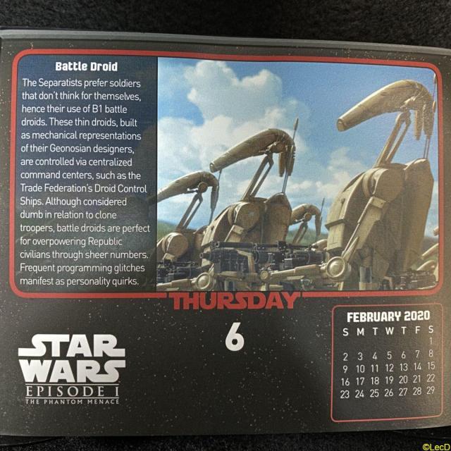 Calendar 2020-02-06