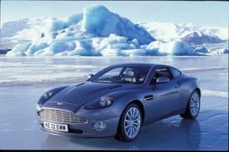 Aston Martin Vanquish on location in Iceland