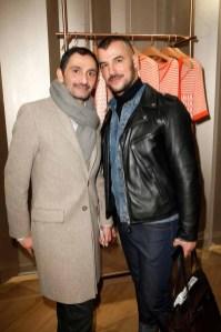 Francis Kurkdjian & a friend