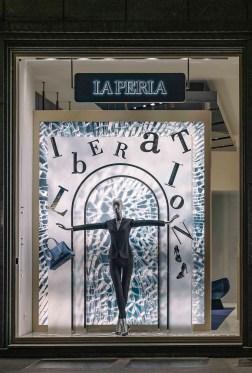 La Perla Liberation Windows Milan (2)