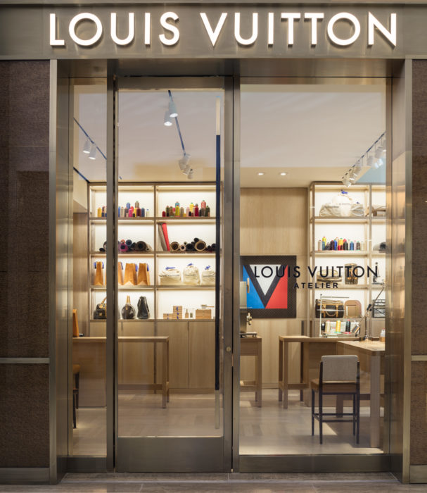 Louis Vuitton's First US In-Store Atelier Opens at South Coast Plaza