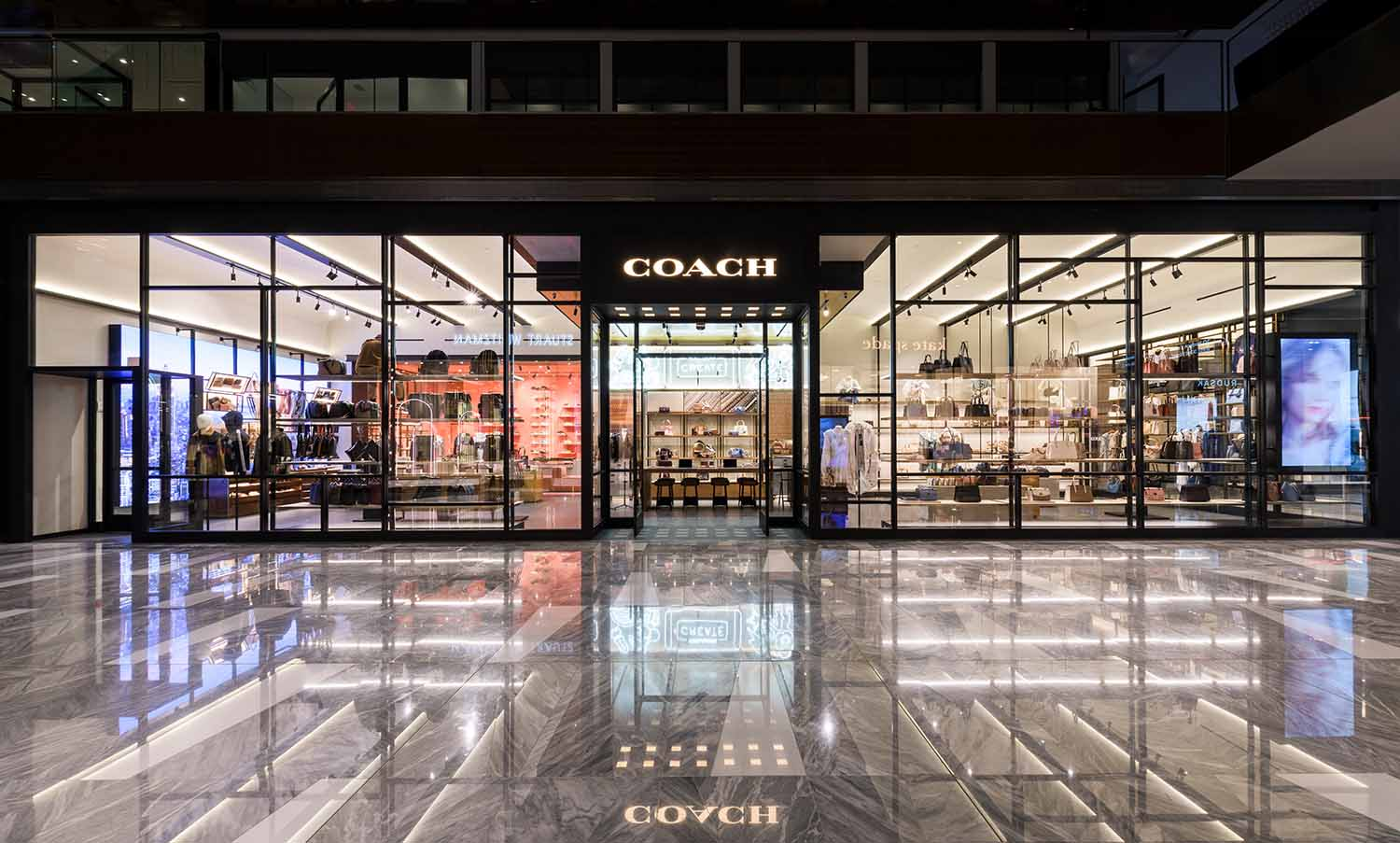 COACH Makes a Statement with New Store at Hudson Yards