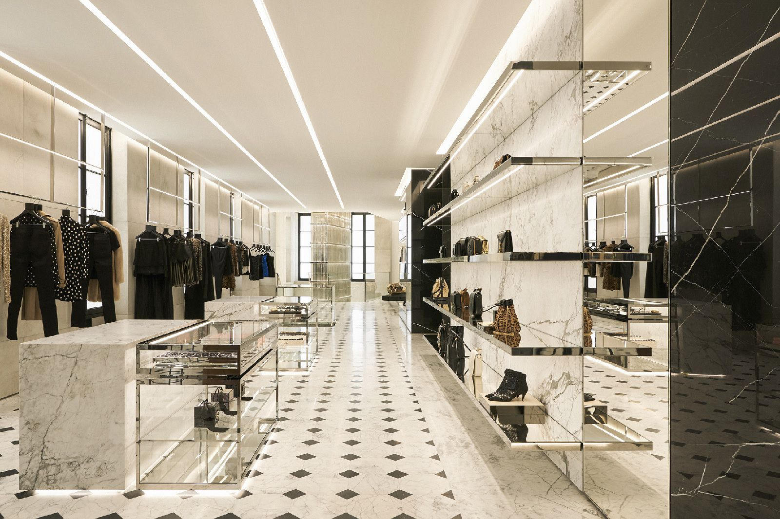 Saint Laurent Opens New Concept Store In Paris