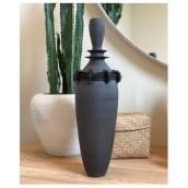Large Black stoneware vase, Altuzarra x Sara Paloma