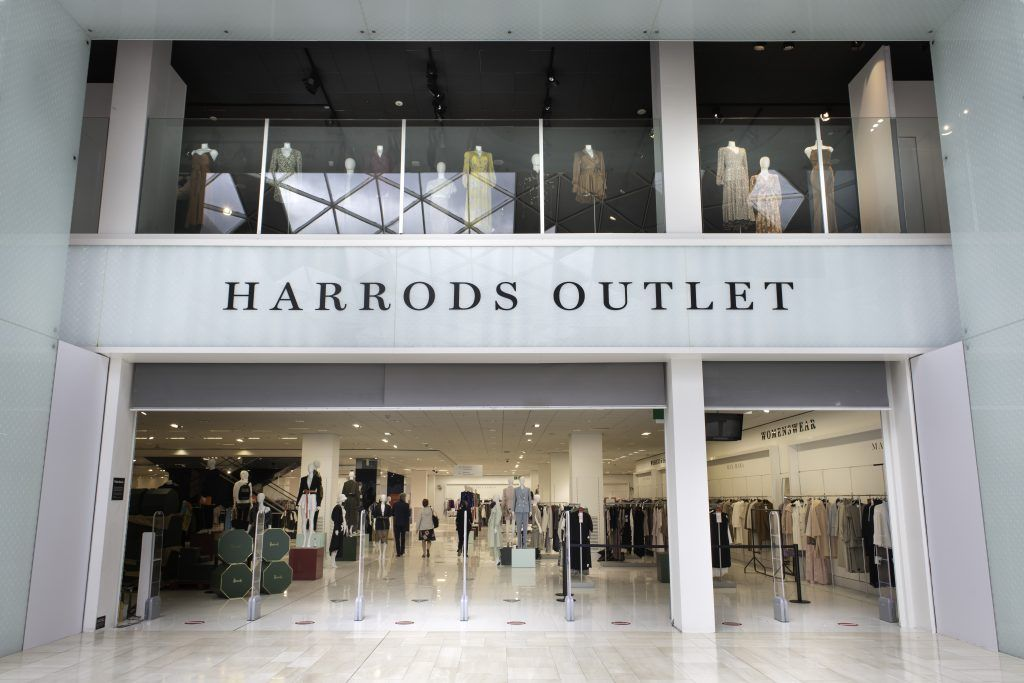 Harrods Opens Its First Outlet In London