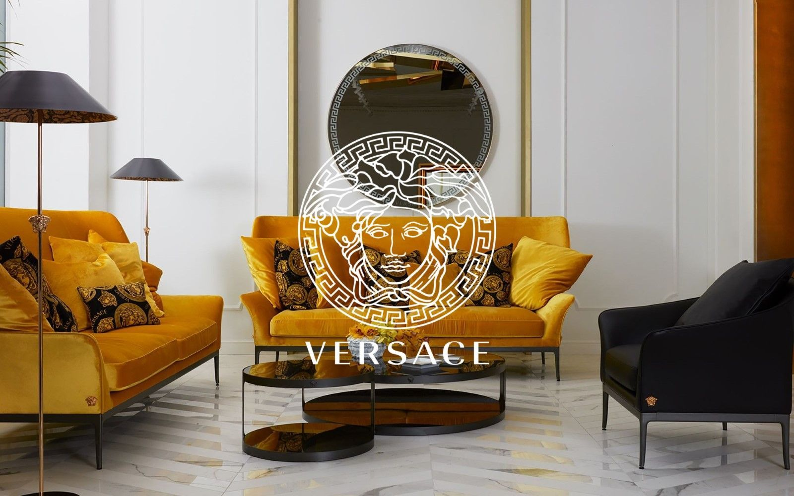 Versace Home's New Milanese Boutique