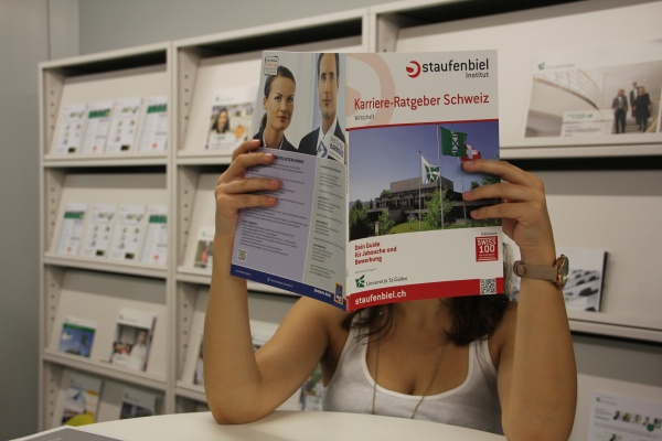 Im Career Services Center finden Studenten sowohl persönliche Beratung als auch vielfältige Unterlagen zur Arbeitswelt.