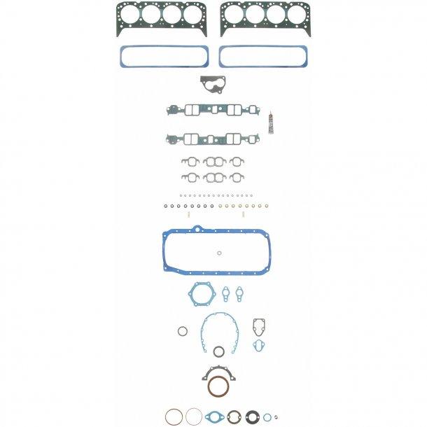 Komplet pakningssæt Chevrolet S/B V8 1987 til 1995 (C350LM