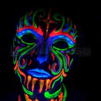 Haunted House 3d Wallpaper K 248 B Uv Ansigtsmaling Hos Lightstore Dk God Kvalitet Til