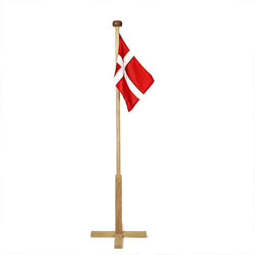 Fdselsdagsflag i stof  flotte stofflag i gte flagdug