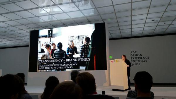 ADC Design Experience 2015 #adcdx15 in #Stuttgart mit Jaqueline Bourke